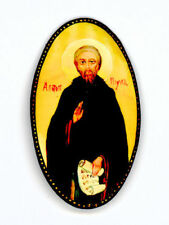 Russian Handpainted Brooches of Religous Saints_brooch_10