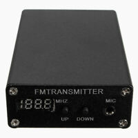 Black 5W Digital FM Radio Transmitter FM Transmitter Radio Station 1mW 87-109MHZ