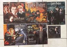 Harry Potter Wall Calendar Lot of 6 - 2004 2005 2006 2007 2008 Large Pictures