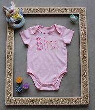 Lucky Brand Pink Fashion Bliss Baby Girl Bodysuit - SIZE 6/9 MONTHS *NEW*