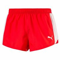 Puma Mens Sports Running Cross the Line Split Shorts Jogging Workout Fitness