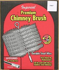 "7"" X 7"" Wire Chimney Brush - Imperial - Made in Canada"