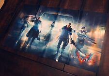 """Devil May Cry 5 Collector's Edition 11"""" x 17"""" Exclusive Cloth Print Poster Only"""