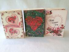 Marie Osmond Greeting Card Dolls,Valentine's Day, Lot of 3, 1994, 1995