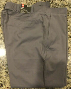 Gray Under Armour Golf Pants 42x30 NWT, Suggested Retail $80.00
