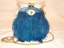 Coach Poppy Feather Crossbody Purse Turquoise w/Tags FREE SHIPPING!! New