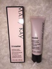 New MARY KAY® TimeWise Liquid Foundation Luminous Wear, + Fast Shipping! SALE