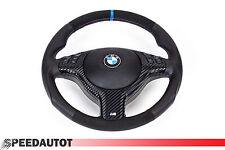 Tuning volante de cuero con Alcantara bmw e46 m3 m5 x5 diafragma multifun airbag azul