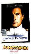 TRAPPOLA IN ALTO MARE DVD Snapper Warner S.SEAGAL Fuori Catalogo Usato OTTIMO+++