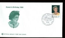 1995 Birthday of Her Majesty Queen Elizabeth II Wesley FDC