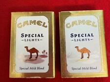2 Vintage 1993 Camel Special Lights Advertising Match Boxes No Matches Canada