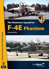ISRADECAL The Hammers Squadron F-4E Phantom   kurnas IDF IAF  1/32 1/48 1/72