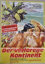 (p416) Orig. kinopl. the lost continent Mario craveri/Enrico Grass