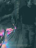 Lost In Translation Movie Poster Matt Taylor FOIL Variant Bill Murray Print