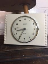 Vintage Junghans Wall Clock Made in Germany Ceramic Kitchen Clock
