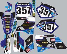 Graphics for 1996-2001 Yamaha wr yz125 yz250 yz 125 250 Decal fender shroud