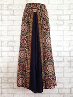Wide Leg Pants Palazzo Lagenlook Bohemian Gypsy Hippie Trousers Wrap WPL