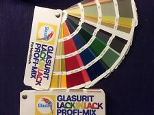 Glasurit Lack in Lack Profi Mix Farbtonblock mit Ral Karte   Art 2
