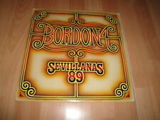 BORDON 4 SEVILLANAS 89 LP DE VINILO VINYL DEL AÑO 1989 EN BUEN ESTADO
