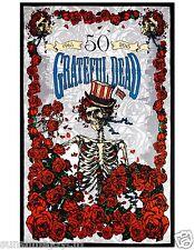 "3D Grateful Dead 50th Anniversary Bertha Tapestry Beach Sheet Wall Art 60x90"""