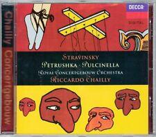 Riccardo CHAILLY STRAVINSKY Petrushka 1947 Pulcinella CD Anna Caterina Antonacci