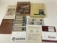 1988 Gold Rush Sierra Big Box MS-DOS IBM Tandy 3.5 & 5.25 Disks