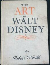 1942 The Art of Walt Disney Hardcover Book by Robert Field