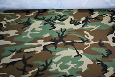 Water Repellent Apparel Taslin True Timber Woodland Camouflage Fabric 61
