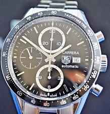 Tag Heuer Carrera CV2010-3 Automatic Chronograph Cal 16 Stainless steel watch