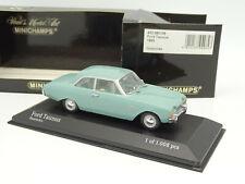 Minichamps 1/43 - Ford Taunus 1960 Turquoise