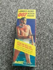 Gilbert Toys James Bond Action Figure Repro Box