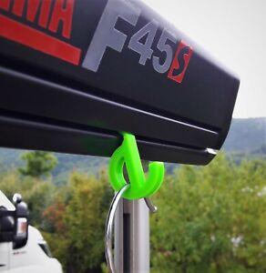 4x HAKEN Öse klein für MARKISEN | Fiamma Thule Omnistor | Kederschiene 7mm NEU!