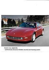 Ferrari 456M gta press photo brochure connexes