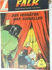 1   x Comic Falk - Band 40 - Der Verräter war schneller - Lehning