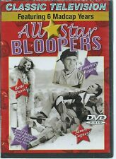 All-Star Bloopers:Featuring 6 Madcap Years NEW DVD * EDUCATED BUYERS READ BELOW