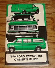 Original 1979 Ford Econoline Owners Operators Manual 79