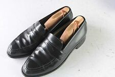 CHURCH'S Cheaney Sz 7 UK /8 D US Black Penny Loafers Men's Dress Shoes