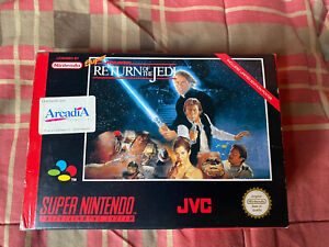 Offer ★ SUPER STAR WARS RETURN OF THE JEDI Super Nintendo SNES PAL ESPAÑA ☆