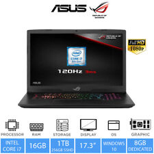 "ASUS ROG Strix 17.3"" Gaming Laptop Intel Core i7-8750H, 16GB RAM, 1TB+256GB SSHD"