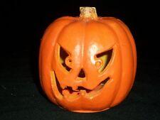"Halloween 5"" Pumpkin Indoor Decor Haunted Spooky Prop Jack O' Lantern"