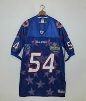 Brian Urlacher Chicago Bears NFL Pro Bowl 2003 Reebok Jersey Authentic Size 58