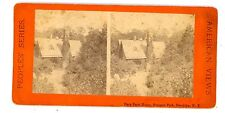 Brooklyn NYC NY-DARY FARM HOUSE IN PROSPECT PARK-Peoples Series Stereoview