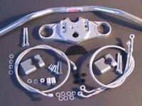 Abm Superbike Lenker-Kit Honda CBR 1000 RR (SC57) 04-07 Argent