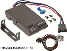 DRAWTITE ACTIVATOR TRAILER BRAKE CONTROL +2PLUG WIRING FITS 2004-17 NISSAN TITAN