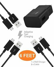 Samsung Galaxy Note 5 Charger ( 6 FEET ) Micro USB 2.0 Cable Kit by TruWire {...