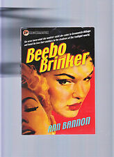BEEBO BRINKER-SIGNED BY ANN BANNON-2001 REPRINT ICONIC 1962 LESBIAN PULP CLASSIC
