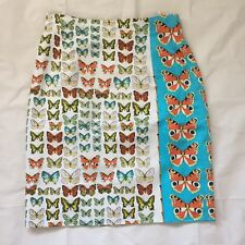 New Rare Vintage Gianni Versace SS1995 Butterfly Skirt Sz 40 Small