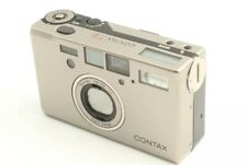 [EXC+3] Contax T3 D *Double Teeth* + Data Back 35mm Film Camera Point & Shoot