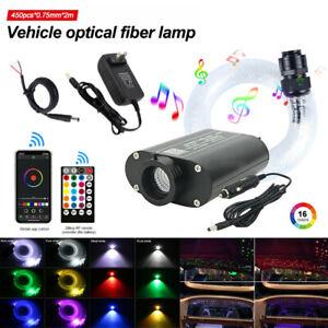 450pcs Car/Home Headliner Star Light kit Roof Twinkle Ceiling Lights Fiber Optic