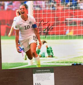 Carli Lloyd Signed Team USA 8x10 Photo COA